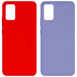 Уценка Чехол Silicone Cover Full without Logo (A) для Samsung Galaxy A02s