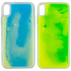 "Уценка Неоновый чехол Neon Sand glow in the dark для Apple iPhone X / XS (5.8"")"