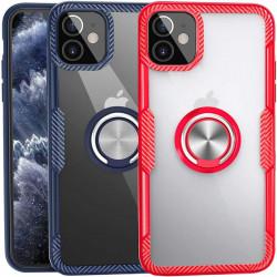 "TPU+PC чехол Deen CrystalRing for Magnet (opp) для Apple iPhone 12 (5.4"")"