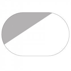 Пленка антидождь на стекло Baseus Rainproof Film 150*100 (2 шт/овал)