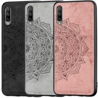 TPU+Textile чехол Mandala с 3D тиснением для Huawei P Smart Pro / Honor 9X (China)