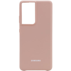 Уценка Чехол Silicone Cover (AA) для Samsung Galaxy S21 Ultra