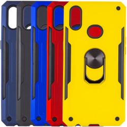Ударопрочный чехол SG Ring Color магнитный держатель для Samsung Galaxy A10s