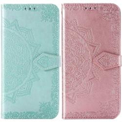 Кожаный чехол (книжка) Art Case с визитницей для Huawei Y5p