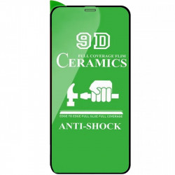 "Защитная пленка Ceramics 9D (без упак.) для Apple iPhone 12 Pro / 12 (6.1"")"