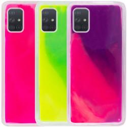 Неоновый чехол Neon Sand glow in the dark для Samsung Galaxy A51