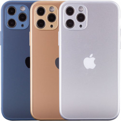 "TPU+Glass чехол Matte Candy Full camera для Apple iPhone 11 Pro Max (6.5"")"