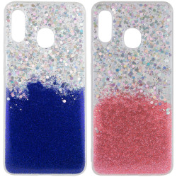 TPU чехол Galaxy Glitter для Samsung Galaxy A20 / A30