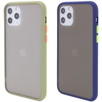 "TPU+PC чехол Color Buttons для Apple iPhone 11 Pro Max (6.5"")"