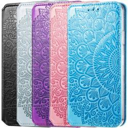 Кожаный чехол книжка GETMAN Mandala (PU) для Samsung Galaxy A50 (A505F) / A50s / A30s
