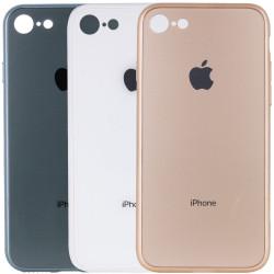 "TPU+Glass чехол GLOSSY Logo Full camera для Apple iPhone 7 / 8 / SE (2020) (4.7"")"