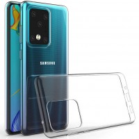 TPU чехол Epic Premium Transparent для Samsung Galaxy S20 Ultra