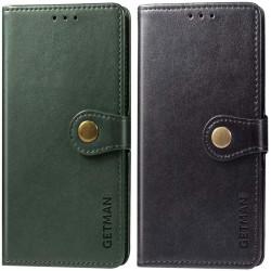 Кожаный чехол книжка GETMAN Gallant (PU) для Huawei Y6p