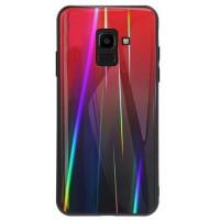 TPU+Glass чехол Gradient Aurora для Samsung Galaxy A6 (2018)
