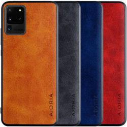 Кожаный чехол AIORIA Vintage для Samsung Galaxy S20 Ultra