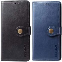 Кожаный чехол книжка GETMAN Gallant (PU) для Xiaomi Redmi Note 10 Pro 5G
