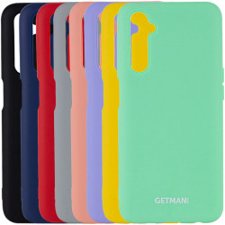 Чехол Silicone Cover GETMAN for Magnet для Realme 6 Pro