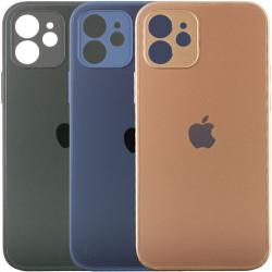 "TPU+Glass чехол Matte Candy Full camera для Apple iPhone 12 mini (5.4"")"