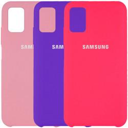 Чехол Silicone Cover (AAA) для Samsung Galaxy M51