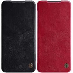 Кожаный чехол (книжка) Nillkin Qin Series для Xiaomi Mi 10T Lite / Redmi Note 9 Pro 5G