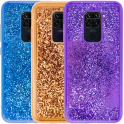 Уценка TPU+PC чехол Sparkle (glitter) для Xiaomi Redmi Note 9 / Redmi 10X