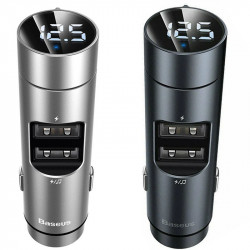 АЗУ Baseus Energy Column Bluetooth FM Launcher PPS 2USB