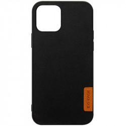 """Кожаная накладка G-Case Sheep Skin Dark Series для Apple iPhone 12 Pro / 12 (6.1"""")"""