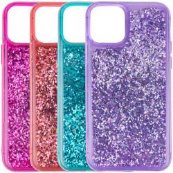 "Уценка TPU+PC чехол Sparkle (glitter) для Apple iPhone 12 Pro / 12 (6.1"")"