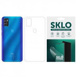 Защитная гидрогелевая пленка SKLO (тыл) для ZTE Blade A7 Fingerprint