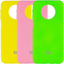 Уценка Чехол Silicone Cover My Color Full Protective (A) для Xiaomi Redmi Note 9 5G / Note 9T