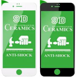 """Защитная пленка Ceramics 9D (без упак.) для Apple iPhone 7 / 8 (4.7"""")"""