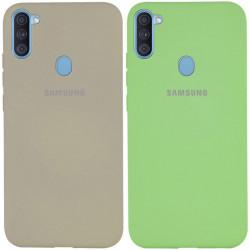 Уценка Чехол Silicone Cover Full Protective (A) для Samsung Galaxy A11