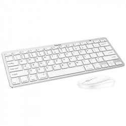 Уценка Набор клавиатура (кир.) + мышь Hoco DI05, беспроводной