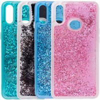 TPU+PC чехол Sparkle (glitter) для Samsung Galaxy A10s