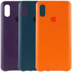 "Уценка Кожаный чехол AHIMSA PU Leather Case Logo (A) для Apple iPhone X / XS (5.8"")"