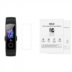Защитная гидрогелевая пленка SKLO (экран) 40шт. (тех.пак) для Honor Band 5