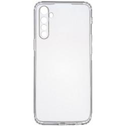 TPU чехол GETMAN Transparent 1,0 mm для Realme 6 Pro
