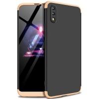 Пластиковая накладка GKK LikGus 360 градусов для Huawei Y7 Pro (2019) / Enjoy 9