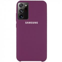 Уценка Чехол Silicone Cover (AAA) для Samsung Galaxy Note 20 Ultra