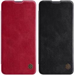Кожаный чехол (книжка) Nillkin Qin Series для Samsung Galaxy A31