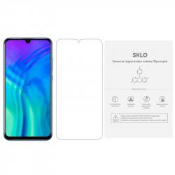 Защитная гидрогелевая пленка SKLO (экран) (тех.пак) для Huawei Y7 (2018)