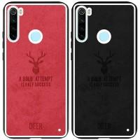 TPU+Textile чехол Deer для Xiaomi Redmi Note 8
