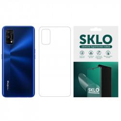 Защитная гидрогелевая пленка SKLO (тыл) для Realme C3 (dual camera)