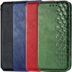 Кожаный чехол книжка GETMAN Cubic (PU) для Oppo A52 / A72 / A92