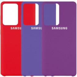Чехол Silicone Cover (AAA) для Samsung Galaxy S20 Ultra