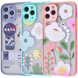 "TPU+PC чехол Picture Color Buttons для Apple iPhone 11 Pro Max (6.5"")"