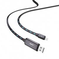 Дата кабель Baseus Glowing Data Lightning Cable (1m)