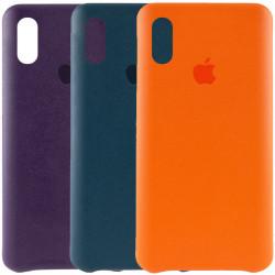 "Уценка Кожаный чехол AHIMSA PU Leather Case Logo (A) для Apple iPhone XR (6.1"")"