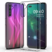 TPU чехол Epic Transparent 1,0mm для Realme 6 Pro
