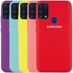 Чехол Silicone Cover Full Protective (AA) для Samsung Galaxy A21